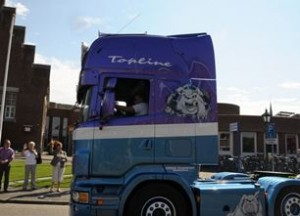 Vrachtwagen-knip